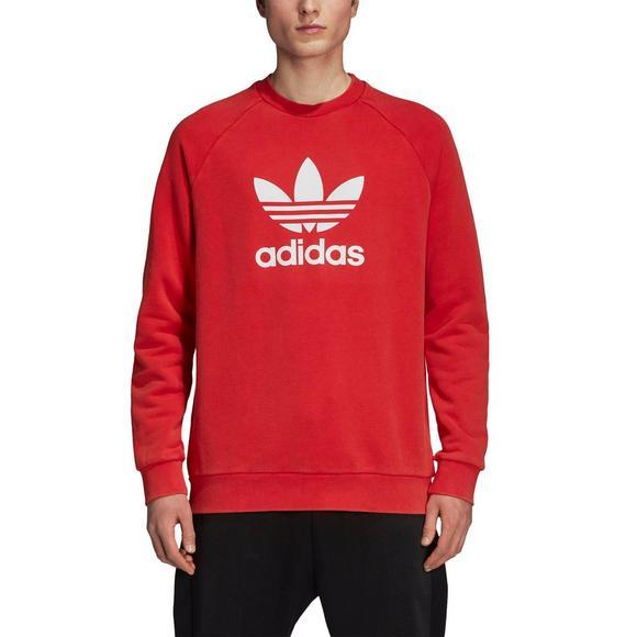 155e37c808de adidas Originals Men s Trefoil Crew Sweatshirt-Red - Main Container Image 4
