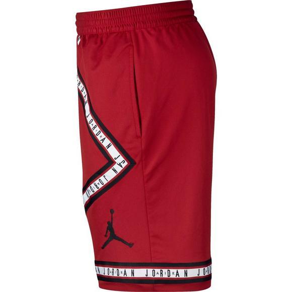 49055956f169 Air Jordan Men s HBR Basketball Shorts - Red Black - Main Container Image 2