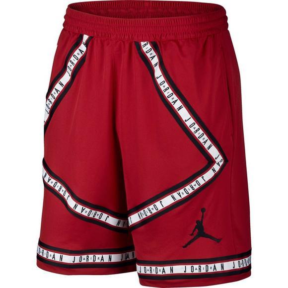 76d561c6c99b Air Jordan Men s HBR Basketball Shorts - Red Black - Main Container Image 1