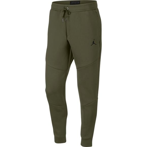583cc5b0f5c129 Jordan Sportswear Men s Flight Tech Diamond Pants - Olive Black - Main  Container Image 1