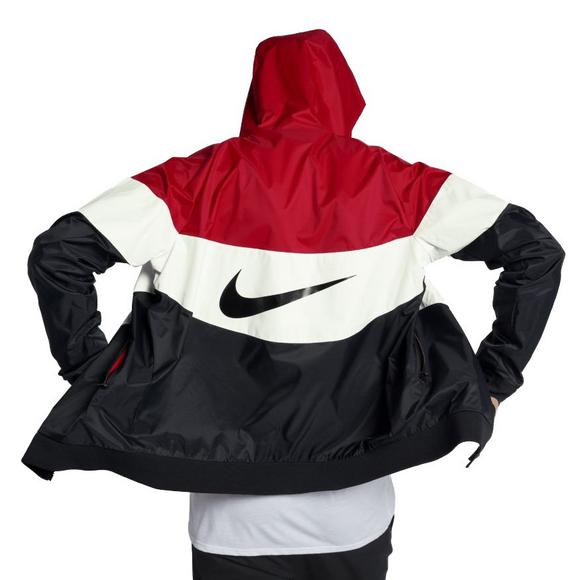 hot sale online 6ca92 92b52 Nike Sportswear Men s Windrunner Jacket - Red Black White - Main Container  Image 2