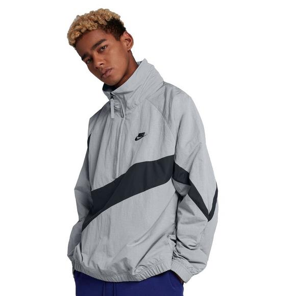 Nike Men s Sportswear Jacket-Grey Black - Main Container Image 1 90dbff7fa