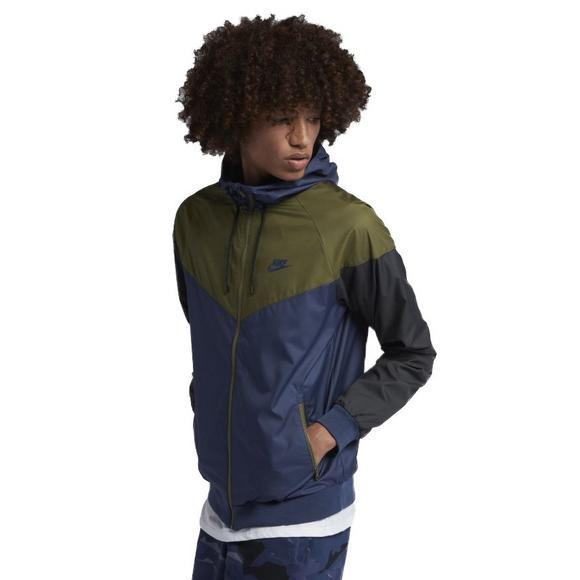 4765fdeb05 Nike Men s Sportswear Windrunner Jacket-Navy - Main Container Image 1