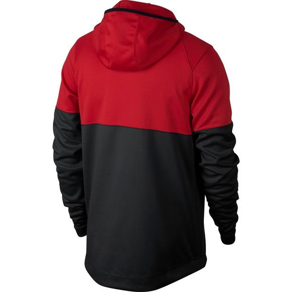 best sneakers b4571 47e9b Nike Men s Spotlight Basketball Hoodie - Red Black - Main Container Image 2