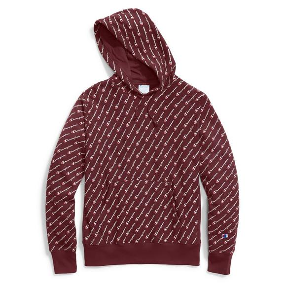 8e910cbc1 Champion Men's Reverse Weave Maroon Pullover Hoodie