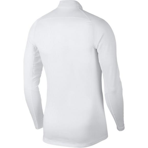 0870a0a7 Nike Men's Pro Therma Long Sleeve Top - White - Main Container Image 2