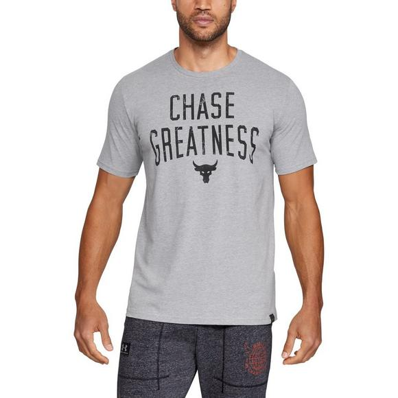 913bcb7446b3c Under Armour Men s Project Rock Chase Greatness Tee - Main Container Image 1