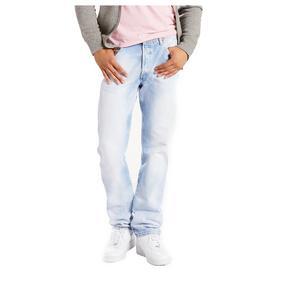 4081a7bcd27 Levi s Men s 501 Original Fit Jeans-Lt Blue