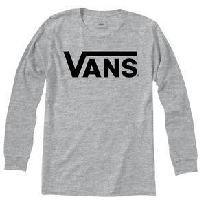 1fb87502c4d Vans Men s Classic Logo Long Sleeve T-Shirt