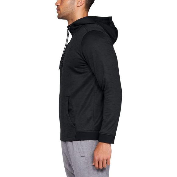 new styles dd2a8 f2627 Under Armour Men s Armour Fleece 1 2 Zip Hoodie - Main Container Image 2