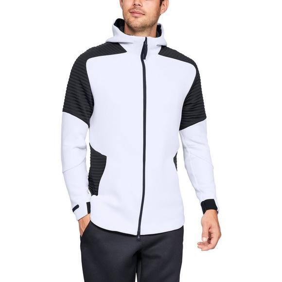 d3e77f725d Under Armour Men's Unstoppable Move Full Zip White Hoodie