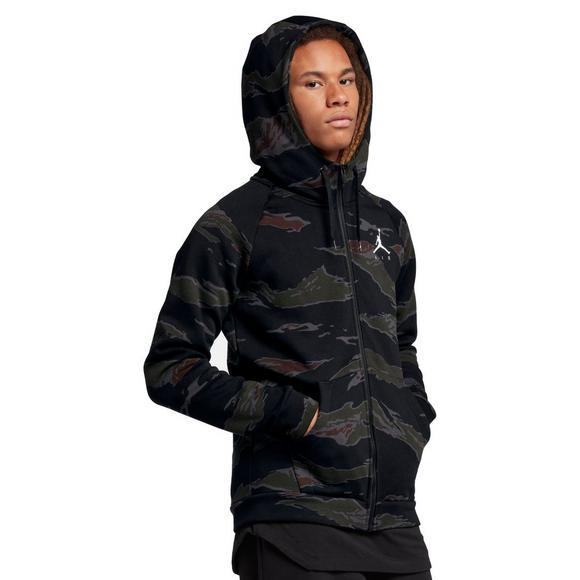 detailed look 06845 8623a Jordan Sportswear Men s Jumpman Air Camo Fleece Full-Zip Jacket - Main  Container Image 1