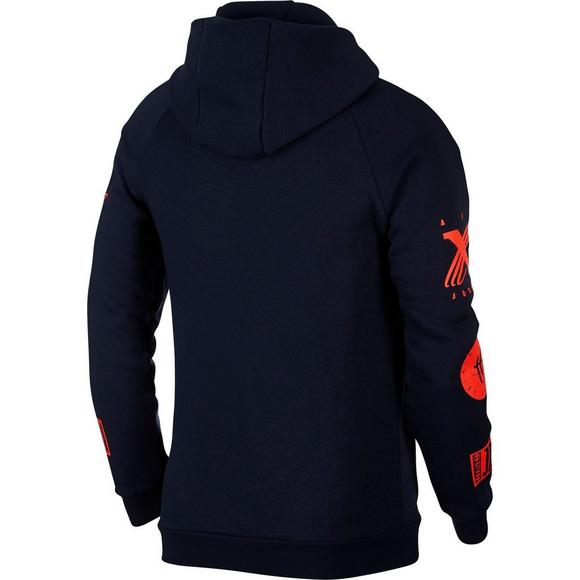 e3c37ebd045b Jordan Men s Legacy Tinker Story Fleece Pullover Hoodie - Main Container  Image 2