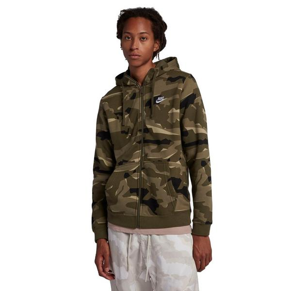 fa97318e38d Display product reviews for Nike Sportswear Men's Full-Zip Camo Hooded  Jacket