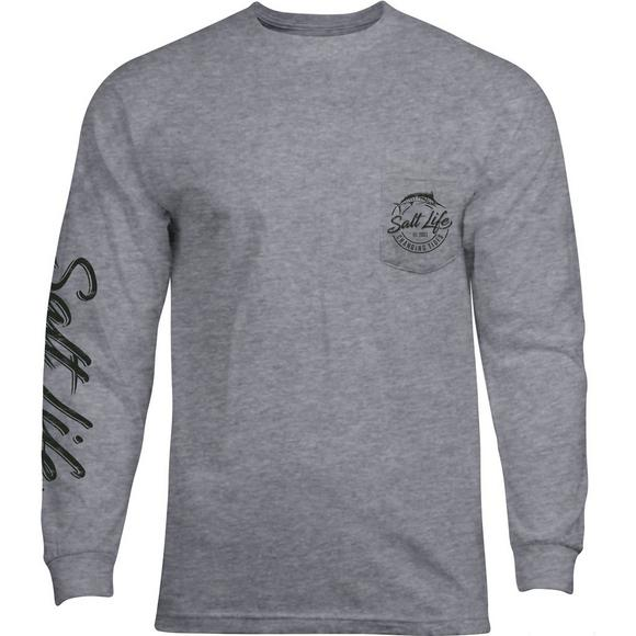cde79a8d Salt Life Men's Changing Tides Long Sleeve T-Shirt - Main Container Image 1