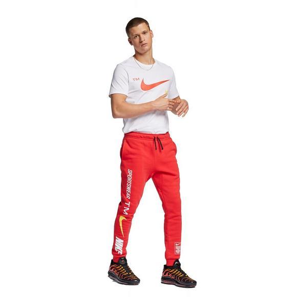 Nike Sportswear Men's Microbrand Red Pant Hibbett | City Gear