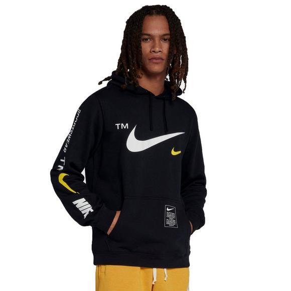 80b666640 Nike Sportswear Men's Club Black Pullover Hoodie - Main Container Image 2