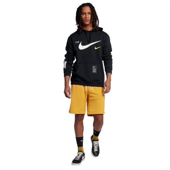 factory outlet on feet at best place Nike Sportswear Men's Club Black Pullover Hoodie