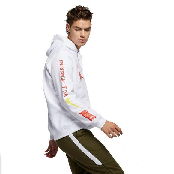 7e4be4288 Nike Sportswear Men's Club White Pullover Hoodie - Main Container Image 6