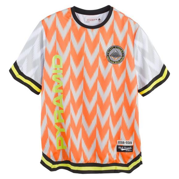 be0d45e38db Black Pyramid Men's Soccer Jersey - Orange - Main Container Image 1