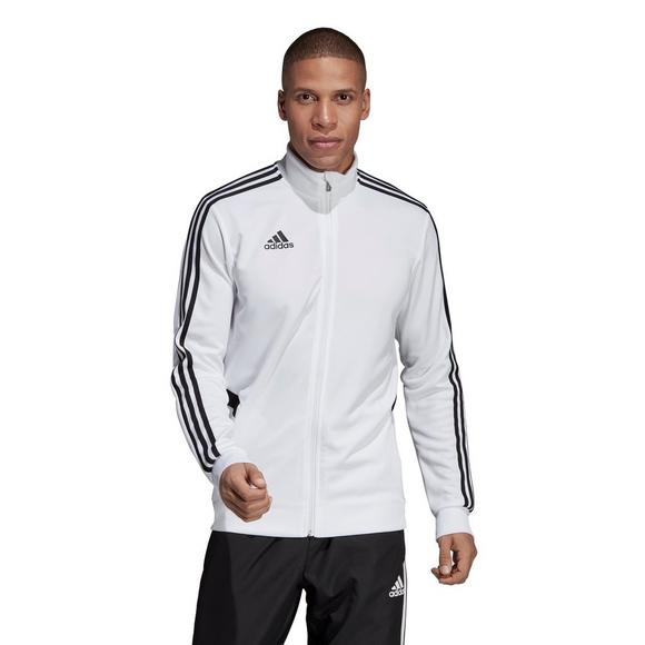 adidas Men's Tiro 18 White Training Jacket