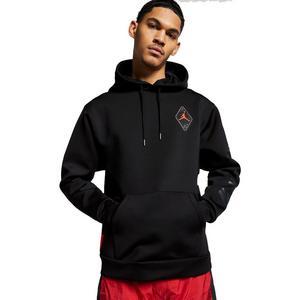 76e48d05c Jordan Men's AJ6 Black Hoodie ...