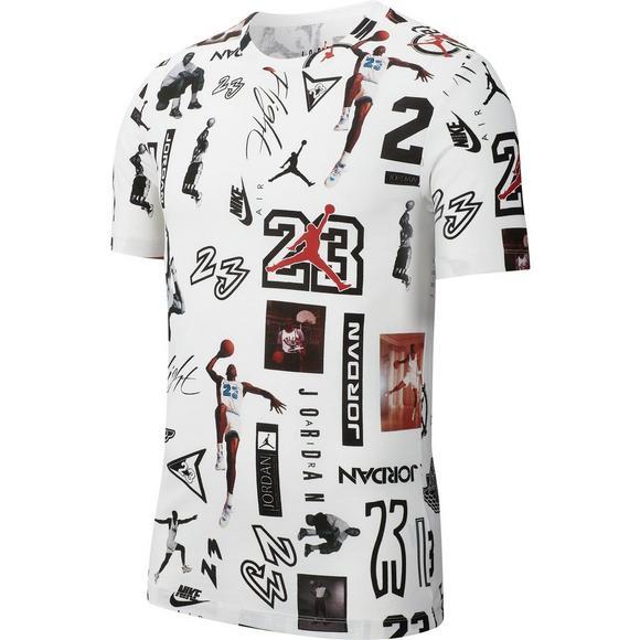 d7d1cc3ba6e Jordan Men's Jumpman HBR All Over Print T-Shirt - Main Container Image 1