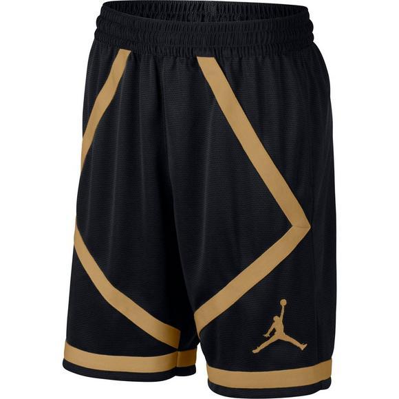 d22de302fa955a Jordan Men s Dri-FIT Taped Basketball Shorts - Black Gold - Main Container  Image