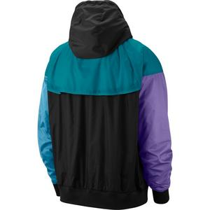 d8ac6e5a5 ... Nike Sportswear Men's Windrunner Jacket - Black/Teal