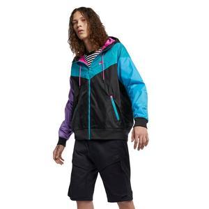 fa9a7dbdf12b Nike Sportswear Men s Windrunner Jacket - Black Teal