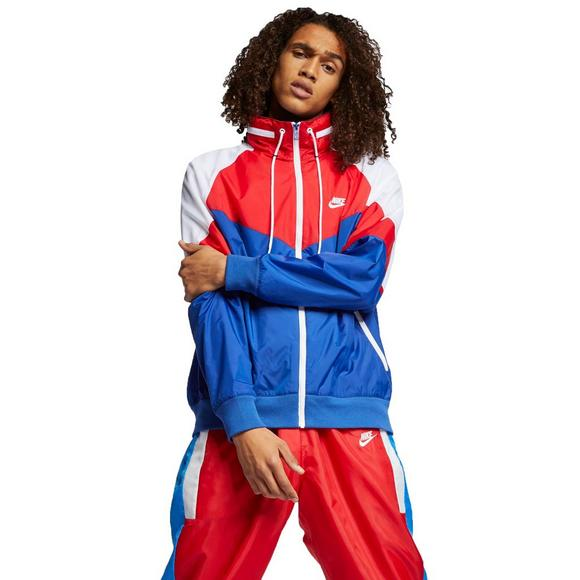 3b4739b4ceab Nike Sportswear Men s Windrunner Jacket - Red White Blue - Main Container  Image 1