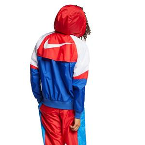 fe9c63336dc4 Nike Sportswear Men s Windrunner Jacket - Red White Blue