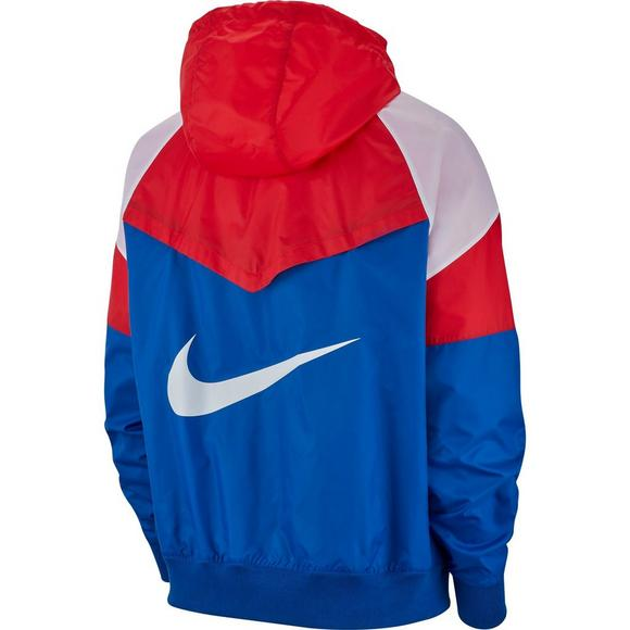 6aa84fd927 Nike Sportswear Men s Windrunner Jacket - Red White Blue - Main Container  Image 2