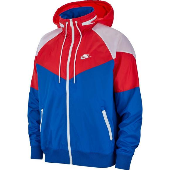 the latest 43038 adb54 Nike Sportswear Men s Windrunner Jacket - Red White Blue - Main Container  Image 7