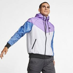 c376d6752a57 Nike Sportswear Men s Windrunner Jacket - White Purple Black