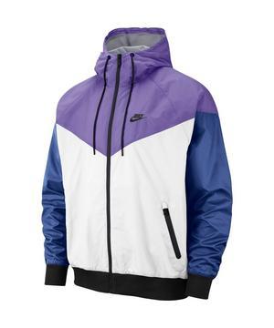 restaurante prioridad admiración  Nike Sportswear Men's Windrunner Jacket - White/Purple/Black - Hibbett |  City Gear