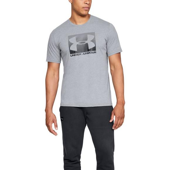bcaf17bdad Under Armour Men's Boxed Sportstyle Short Sleeve T-Shirt - Grey