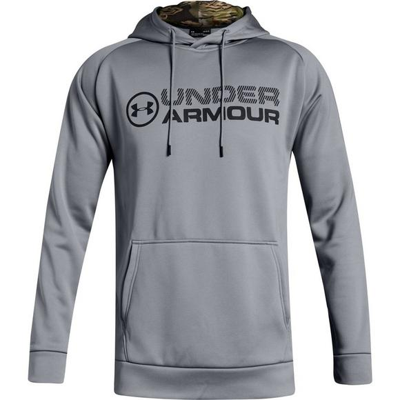 cheap for discount c1b70 b43b7 Under Armour Men s Armour Fleece Stacked Hoodie - Main Container Image 1
