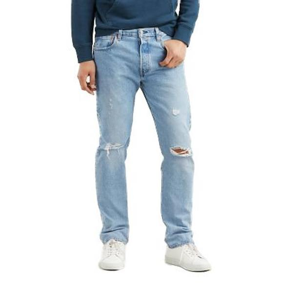 85fd757acb4 Levi's Men's 501 Original Fit Jeans - Damaged Hector - Main Container ...