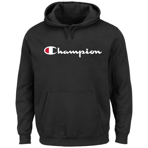 adb9902c5 Champion Men's Big and Tall Script Logo Pullover Hoodie - Hibbett US