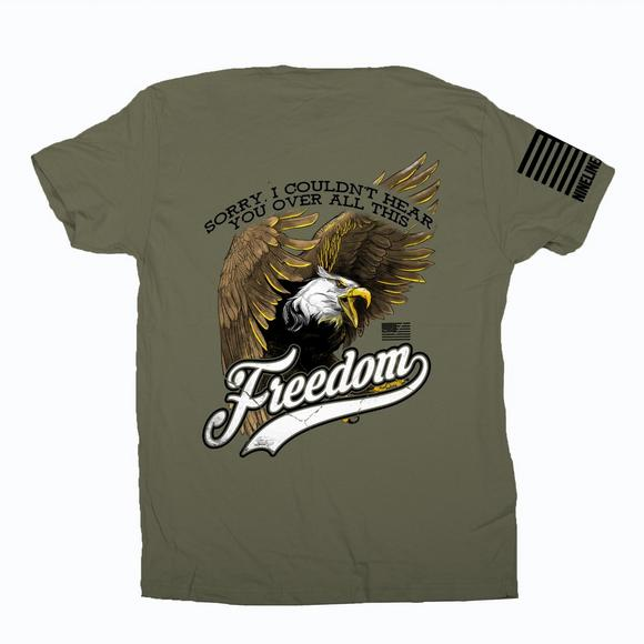 57d387cf88c Nine Line Apparel Men s All This Freedom T-Shirt - Main Container Image 1