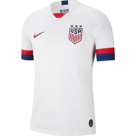 new product 6c023 48a7e Nike Men's Breathe USA Stadium Home Soccer Jersey
