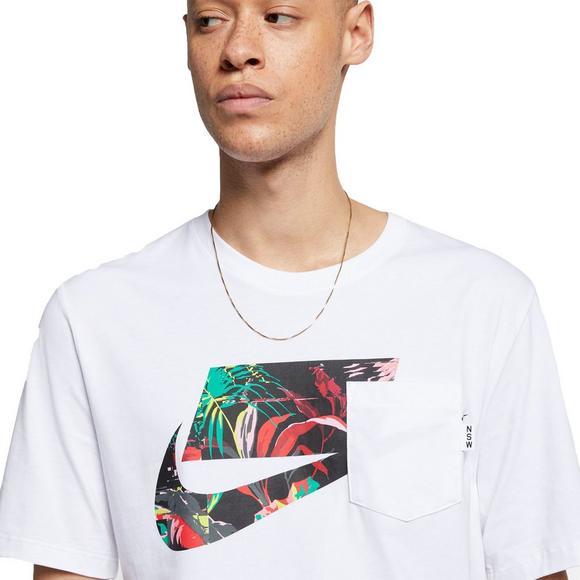buy popular newest collection hot sale online Nike Sportswear Men's Floral Logo Tee