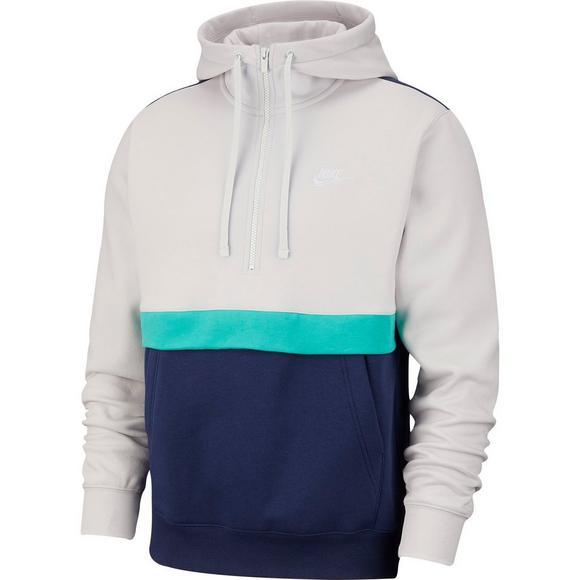 Nike Men's Half Zip Fleece Hoodie