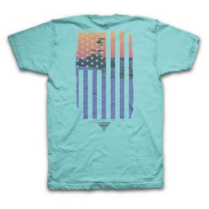 9f1373962a788c Columbia Men's PFG Flow Gulf Steam Short Sleeve T-Shirt ...