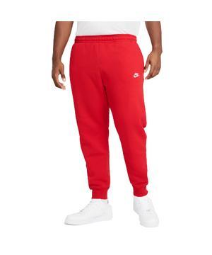 Nike Men's Sportswear Club Fleece Joggers - Red