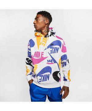Nike Sportswear Club Men's Printed Pullover Hoodie