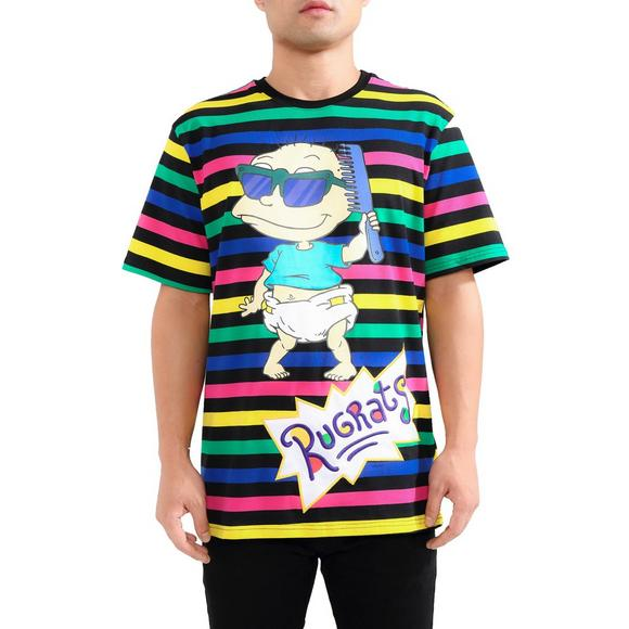 cheap for discount 8e3e6 0e9a2 Freeze Men's Rugrats Tommy Comb Striped Tee