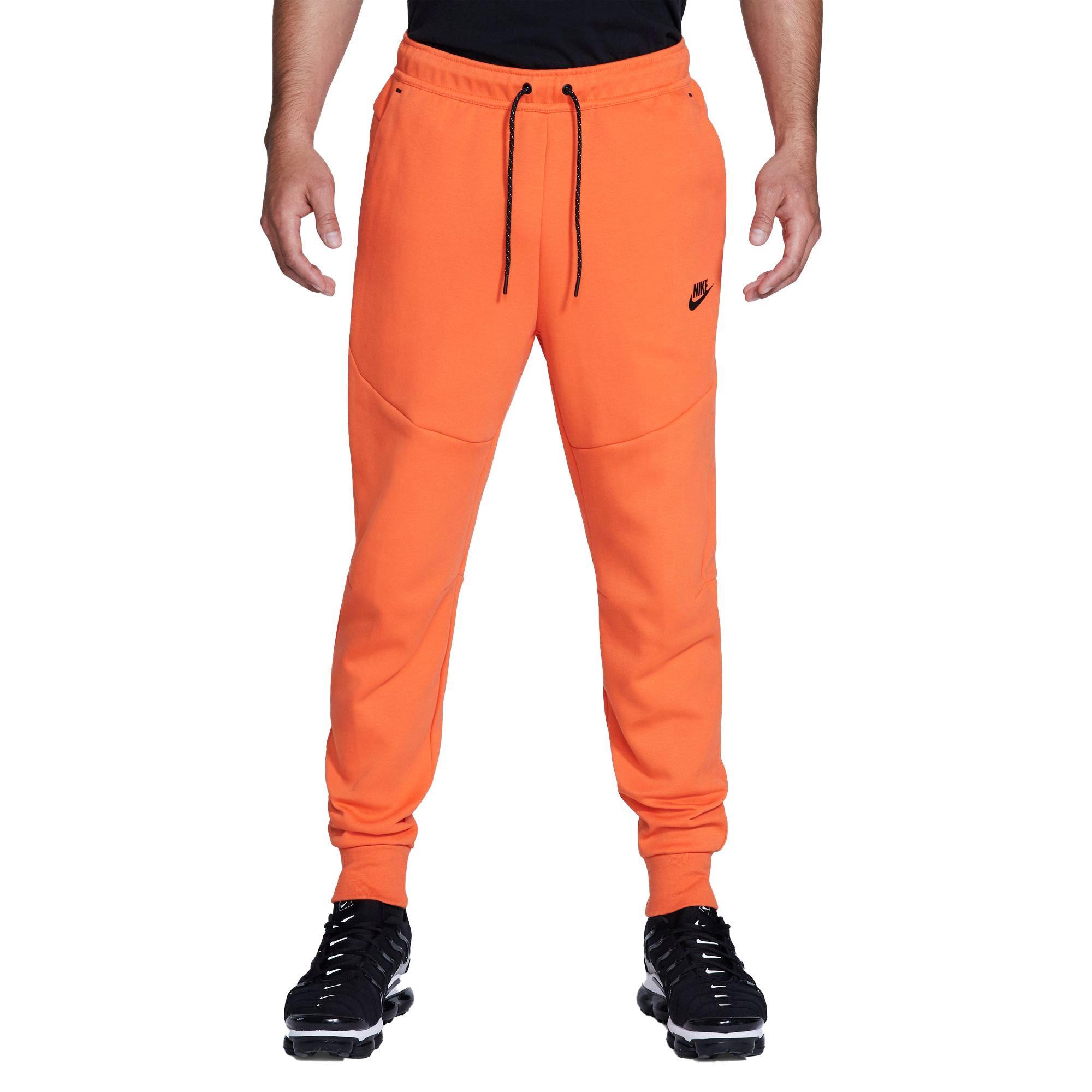Nike Tech Fleece Men S Joggers Orange Hibbett City Gear