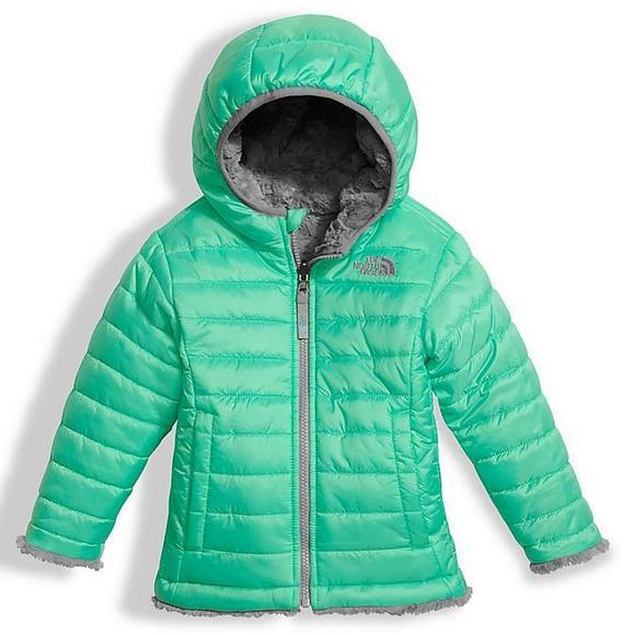 0ce1ffcec The North Face Toddler Reversible Mossbud Swirl Jacket - Hibbett US